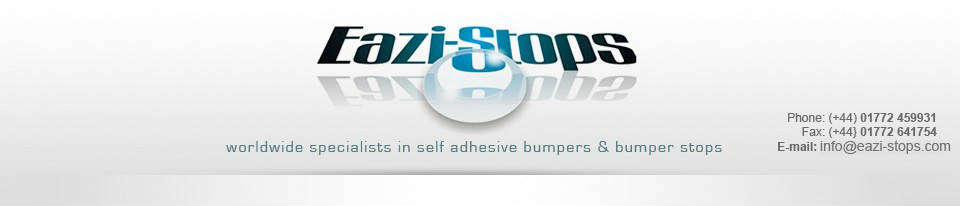 Eazi Stops - Worldwide Specialists in self adhesive bumpers & bumper stops