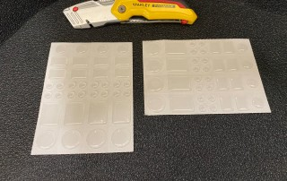 Universal Multipack Bumper Feet Sheets
