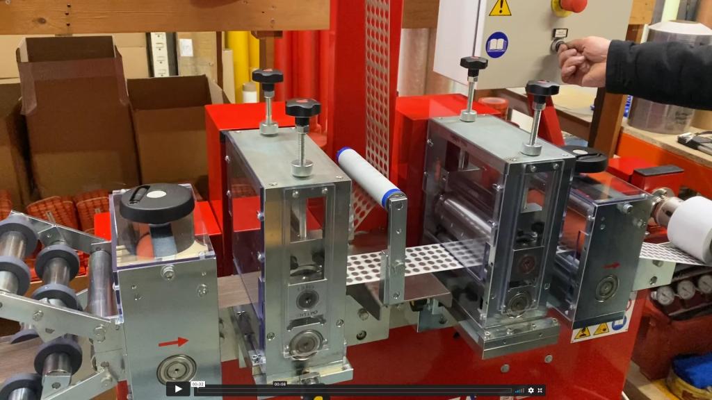 Eazi-Stops Facilities GD Rotary Die Cutting Machine - RO 175